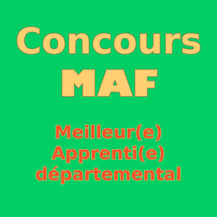 Concours MAF - Meilleur(e) Apprenti(e) de France – à l'école Saint Ilan